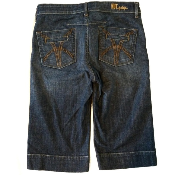 Kut from the Kloth Pants - 2/$30 Kut from the Kloth wide hem bermuda shorts